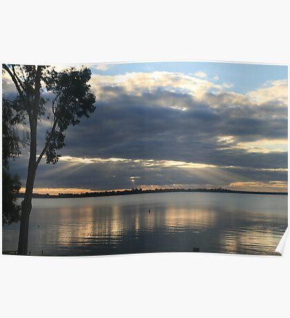 Lake Bonney,Barmera,S.A. Poster