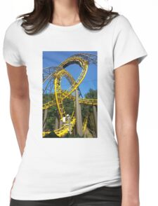Loch Ness Monster LOOPS Womens Fitted T-Shirt