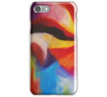 """""""Fiesta Nocturna"""" original abstract landscape by Laura Tozer iPhone Case/Skin"""