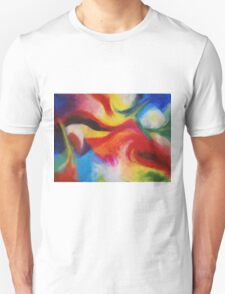 """Fiesta Nocturna"" original abstract landscape by Laura Tozer Unisex T-Shirt"
