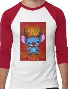 Christmas stitch Men's Baseball ¾ T-Shirt