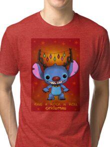Christmas stitch Tri-blend T-Shirt