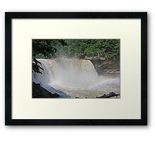 Angry waters Framed Print