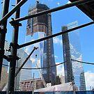 World Trade Center Under Construction by Alberto  DeJesus