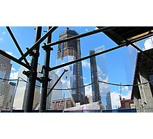 World Trade Center Under Construction Photographic Print