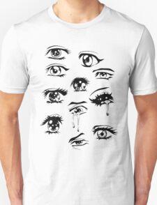 sad anime eyes  Unisex T-Shirt