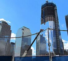 Freedom Tower Ascends by Alberto  DeJesus