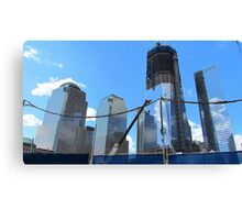 Freedom Tower Ascends Canvas Print