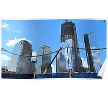 Freedom Tower Ascends Poster
