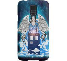 The angel has a phone box Samsung Galaxy Case/Skin