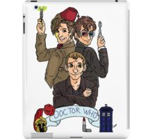 They're the Doctors (with logo) iPad Case/Skin