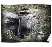 Glenrock Waterfall Poster