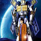 Giant Robot Phone Box with The Doctor by Arief Rahman Hakeem