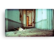 down there Canvas Print