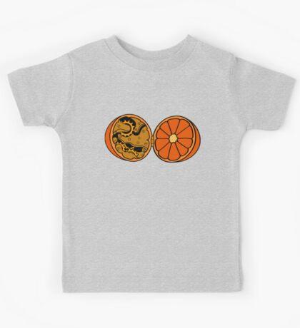 Clockwork Orange (brass) Kids Tee