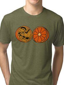 Clockwork Orange (brass) Tri-blend T-Shirt