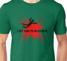 Professional Stuntman/Stuntwoman Shirt (Black&Red) Unisex T-Shirt