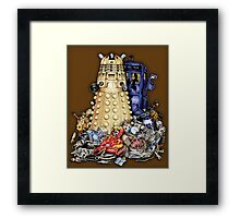 The Best Robot in the Universe Framed Print