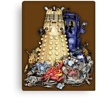 The Best Robot in the Universe Canvas Print