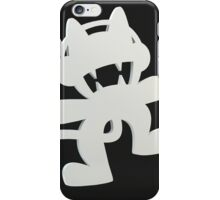 Monstercat Black and White iPhone Case/Skin