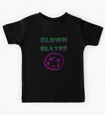 Clown Slayer Kids Tee