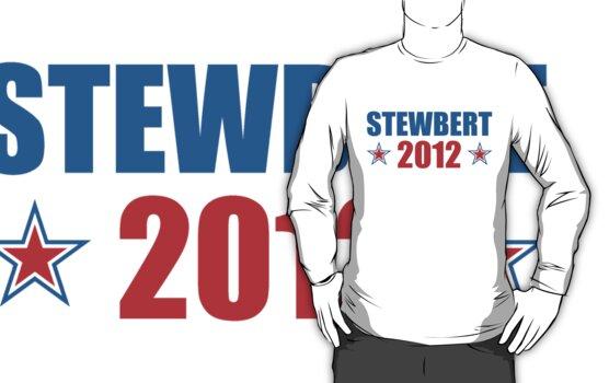 Stewbert 2012 Red/Blue B by LTDesignStudio