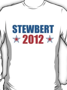 Stewbert 2012 Red/Blue B T-Shirt