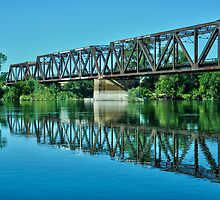 placid American River by Lenny La Rue, IPA