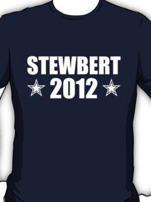 Stewbert 2012 White B T-Shirt