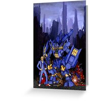 12th Doctor with Dalek Buster Greeting Card