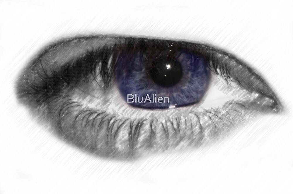 Artistic Eye by BluAlien