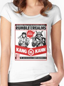 Let's Get Ready to Kombat! Women's Fitted Scoop T-Shirt