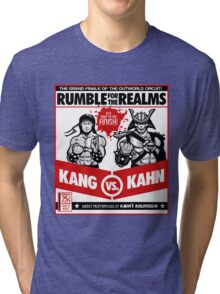 Let's Get Ready to Kombat! Tri-blend T-Shirt