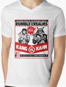 Let's Get Ready to Kombat! Mens V-Neck T-Shirt