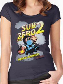 Super SubZero Bros. 2 Women's Fitted Scoop T-Shirt