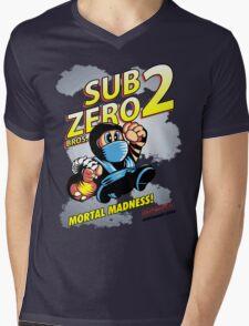 Super SubZero Bros. 2 Mens V-Neck T-Shirt