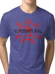 Supernatural Angel Warding Tri-blend T-Shirt