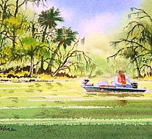 The Fishing Is Done  by bill holkham