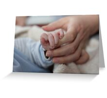 Baby and Mommy Greeting Card