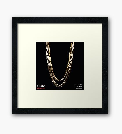 2 Chainz Based on a T.R.U story Framed Print