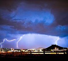 Castle Rock Storm - Castle Rock, CO by Zeibyasis