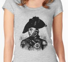 George III-King of England Women's Fitted Scoop T-Shirt
