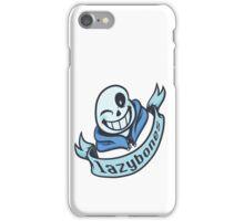 Lazybones - 8-bit SANS iPhone Case/Skin