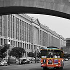 Bus Traveling Through D.C. by thatche2