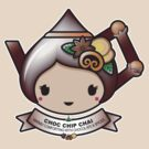 Choc Chip Chai Teapot by Bubble Doll