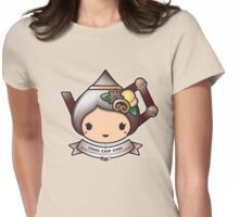 Choc Chip Chai Teapot Womens Fitted T-Shirt