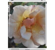 Wet The Flowers iPad Case/Skin