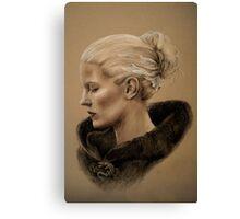 The Dark Swan Canvas Print