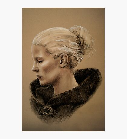The Dark Swan Photographic Print