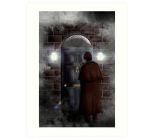 Haunted house Baker street 221b Art Print